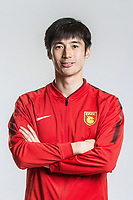 **EXCLUSIVE**Portrait of Chinese soccer player Geng Xiaofeng of Hebei China Fortune F.C. for the 2018 Chinese Football Association Super League, in Marbella, Spain, 26 January 2018.