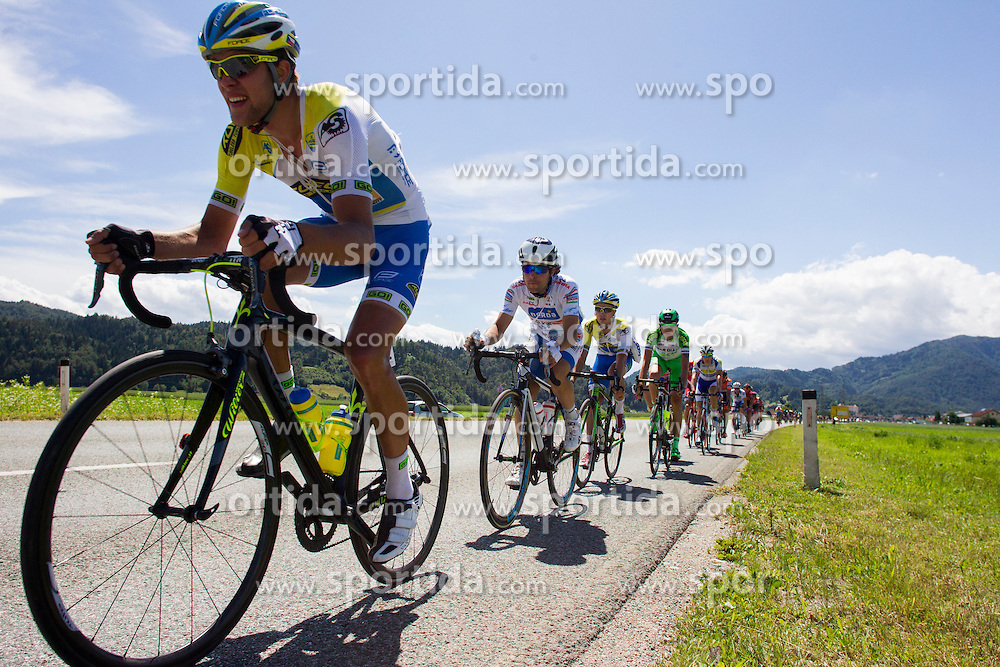 Peloton during Stage 2 of 23rd Tour of Slovenia 2016 / Tour de Slovenie from Nova Gorica to Golte  (217,2 km) cycling race on June 17, 2016 in Slovenia. Photo by Urban Urbanc / Sportida