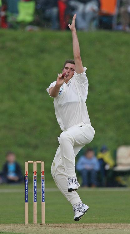 New Zealand bowler, Tim Southee. MCC v New Zealand Blackcaps. Tour match. Cricket. Arundel, Sussex, England. 27 April 2008. Photo: Offside/PHOTOSPORT