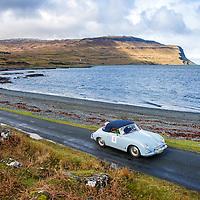 Car 18 Roger Osborne / Barbara Osborne Porsche 356A Cabriolet