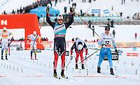 Ski , Fis Cross - Country World Cup , Presented by Viessmann<br /> Lillehammer<br /> 04.12.2016<br /> Foto: Dagfinn Limoseth , Digitalsport<br /> Johannes Hoesflot Klaebo , NOR ble nr 2 foran Matti Heikkinen , FIN