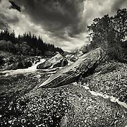 River Orchy, Glen orchy, Argyll, Scotland