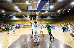 Devin Oliver of Petrol Olimpija during basketball match between KK Ilirija and KK Petrol Olimpija in 10th Round of Nova KBM Basketball League 2017/18, on December 17, 2017 in Hala Tivoli, Ljubljana, Slovenia. Photo by Vid Ponikvar / Sportida