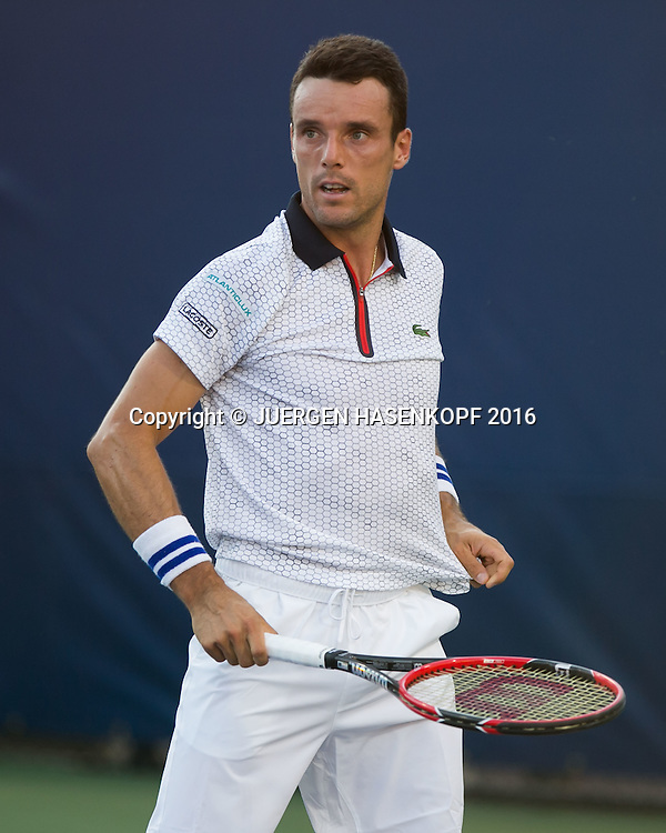 ROBERTO BAUTISTA AGUT (ESP)<br /> <br /> Tennis - US Open 2016 - Grand Slam ITF / ATP / WTA -  Flushing Meadows - New York - New York - USA  - 30 August 2016.