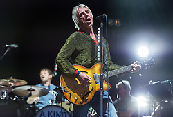 © Licensed to London News Pictures. 01/09/2018. Bristol, UK. The Downs Festival on The Downs in Bristol. Picture of PAUL WELLER on the main stage. The one day festival is taking place for the third year and features headliners Noel Gallagher's High Flying Birds, Paul Weller, and Orbital. Photo credit: Simon Chapman/LNP