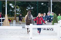 Anna Kasprzak, (DEN), Donnperignon - Horse Inspection Dressage - Alltech FEI World Equestrian Games™ 2014 - Normandy, France.<br /> © Hippo Foto Team - Leanjo de Koster<br /> 25/06/14