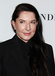 Glamour Celebrates 2016 Women of the Year Awards - Los Angeles.<br /> 14 Nov 2016<br /> Pictured: Marina Abramovic.<br /> Photo credit: Jaxon / MEGA<br /> <br /> TheMegaAgency.com<br /> +1 888 505 6342