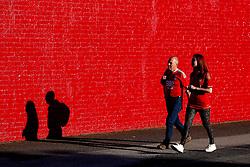 Fans arrive at Oakwell Stadium  - Mandatory by-line: Matt McNulty/JMP - 15/08/2017 - FOOTBALL - Oakwell Stadium - Barnsley, England - Barnsley v Nottingham Forest - SkyBet Champioship