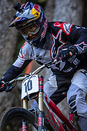 Aaron Gwinn (USA) at the 2018 UCI MTB World Championships - Lenzerheide, Switzerland