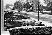 13/01/1963<br /> 01/13/1963<br /> 13 January 1963<br /> Snow scenes from Kiliney and Dun Laoghaire, Co. Dublin. View of icy street.