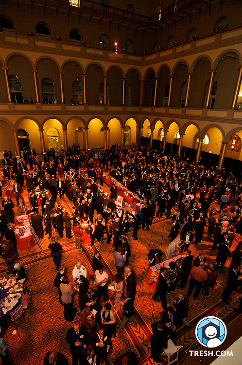 Cocktails prior to the Servicemembers Legal Defense Network 15th Annual Dinner, held Saturday, March 24, 2007, at the National Building Museum in Washington, D.C.