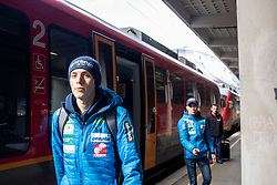 Bor Pavlovcic during  press conference of Ski jumping Planica 2019, on March 20, 2019, in Slovenian railways, Slovenia. Photo by Matic Ritonja / Sportida