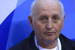 Coach Vladimir Cermak of Slovenia at 4th day of Heats of LEN European Short Course Swimming Championships Rijeka 2008, on December 14, 2008,  in Kantrida pool, Rijeka, Croatia. (Photo by Vid Ponikvar / Sportida)
