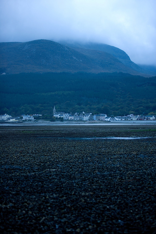 Newcastle and the Mourne Mountains, Northern Ireland, UK