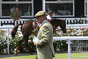 The course steward during Uttoxeter Races at Uttoxeter Racecourse, Uttoxeter, United Kingdom on 30 July 2017. Photo by John Potts.