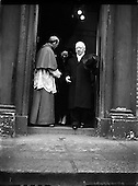 1958 - 09/12 Funeral Alberto Levame, Apostolic Nuncio to Ireland.