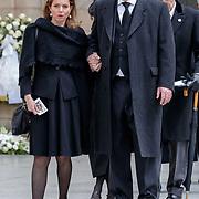 LUX/Luxemburg/20190504 -  Funeral<br /> of HRH Grand Duke Jean, Uitvaart Groothertog Jean, Prince Carlos de Parme en partner and Princess Annemarie