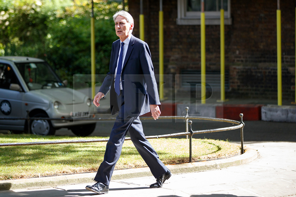 © Licensed to London News Pictures. 10/05/2017. London, UK. Chancellor PHILIP HAMMOND arrives at Downing Street, London on Wednesday, 10 May 2017. Photo credit: Tolga Akmen/LNP