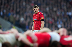 Dan Biggar of Wales - Mandatory byline: Patrick Khachfe/JMP - 07966 386802 - 12/03/2016 - RUGBY UNION - Twickenham Stadium - London, England - England v Wales - RBS Six Nations.