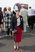 Racegoer at Ladies Day, Fontwell Park Racecourse, Arundel, United Kingdom on 13 August 2015. Photo by Ellie Hoad.