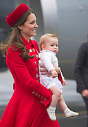Prince George, Kate & William Start New Zealand Tour
