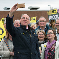 John Swinney Campaigning