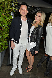 ED BEZZANT and RACHEL HIRD at a reception hosted by Tiffany Watson in aid of The Eve Appeal held at The Phene, 9 Phene Street, London on 8th September 2015.