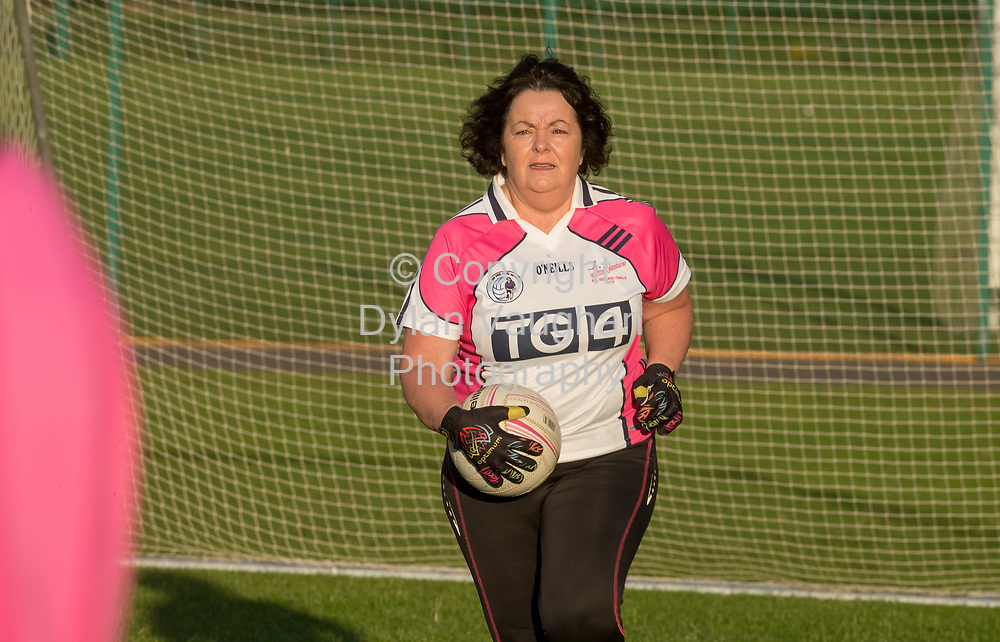 13-7-17<br /> The Ladies football team pictured at Conahy Shamrocks.<br /> <br /> Pictured is Pauline Harding.<br /> <br /> Picture Dylan Vaughan.
