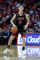 05 November 2017:  Josh Niego during aLewis College Flyers and Illinois State Redbirds in Redbird Arena, Normal IL