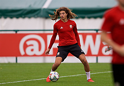 CARDIFF, WALES - Tuesday, September 4, 2018: Wales' Ethan Ampadu during a training session at the Vale Resort ahead of the UEFA Nations League Group Stage League B Group 4 match between Wales and Republic of Ireland. (Pic by David Rawcliffe/Propaganda)