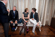 HENRY WYNDHAM; MELISSA WYNDHAM; HENRY HUDSON, Book launch party for the paperback of Nicky Haslam's book 'Sheer Opulence', at The Westbury Hotel. London. 21 April 2010