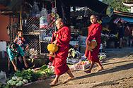 chiang rai mae salong thailand akha morning market