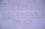 the glorious dead. New Zealand. 1999