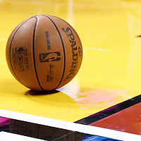 21 January 2012: A ball lays on the floor during the Miami Heat 113-92 victory over the Philadelphia Sixers at the AmericanAirlines Arena, Miami, Florida, USA.