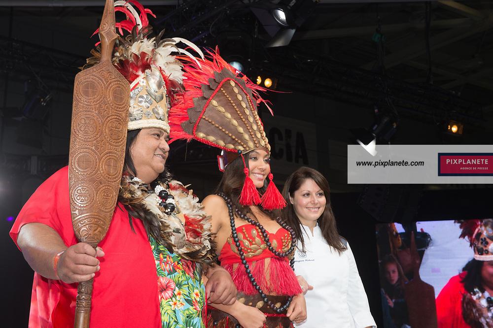 Vaimalama Chaves Miss France 2019  25ème Salon du Chocolat mardi 29 Octobre 2019 Porte de Versailles Paris