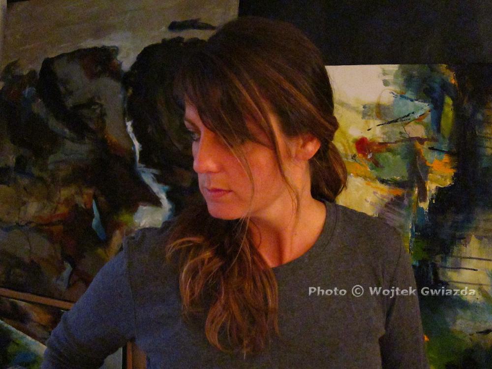 Montreal painter Marl&egrave;ne Laberge.<br /> http://www.marlenelaberge.com