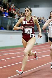 Mile, BC, Paige Duca<br /> Boston University Athletics<br /> Hemery Invitational Indoor Track & Field