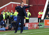 Slaven Bilic, manager of West Ham United shouts instructions to his players during the Premier League match against Stoke City at the Bet 365 Stadium, Stoke-on-Trent.<br /> Picture by Michael Sedgwick/Focus Images Ltd +44 7900 363072<br /> 29/04/2017