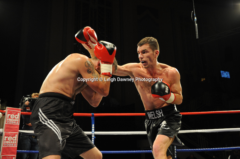 Martin Welsh defeats Billy Smith at The Troxy, Limehouse, London, 16th October 2010. Frank Maloney Promotions © Photo credit: Leigh Dawney