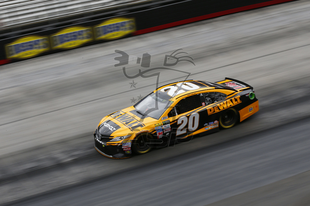 August 18, 2017 - Bristol, Tennessee, USA: Matt Kenseth (20) takes to the track to practice for the Bass Pro Shops NRA Night Race at Bristol Motor Speedway in Bristol, Tennessee.