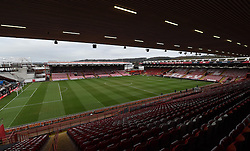 The stage is set for FA Cup fourth round tie between Bristol City and West Ham United at Ashton Gate - Photo mandatory by-line: Paul Knight/JMP - Mobile: 07966 386802 - 25/01/2015 - SPORT - Football - Bristol - Ashton Gate - Bristol City v West Ham United - FA Cup fourth round