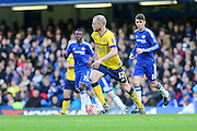 Scunthorpe's Neil Bishop on the ball during the The FA Cup third round match between Chelsea and Scunthorpe United at Stamford Bridge, London, England on 10 January 2016. Photo by Shane Healey.