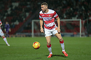 Aaron Taylor-Sinclair (Doncaster Rovers) during the Sky Bet League 1 match between Doncaster Rovers and Port Vale at the Keepmoat Stadium, Doncaster, England on 26 January 2016. Photo by Mark P Doherty.