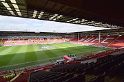 Sheffield United Bramall Lane ground befored the Sky Bet League 1 match between Sheffield Utd and Crewe Alexandra at Bramall Lane, Sheffield, England on 25 March 2016. Photo by Ian Lyall.