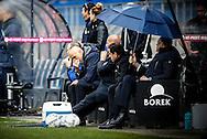 17-04-2016 VOETBAL:WILLEM II-ADO DEN HAAG:TILBURG<br /> Trainer/Coach Jurgen Streppel van Willem II teleurgesteld op de bank<br /> Foto: Geert van Erven