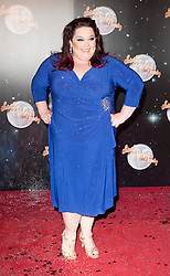 Actress Lisa Riley joins fellow Contestants as they line up for this years Strictly Come Dancing television show on BBC. Contestants will include Olympic medalist Victoria Pendleton, Tuesday September 11, 2012.Photo Andrew Parsons/i-Images
