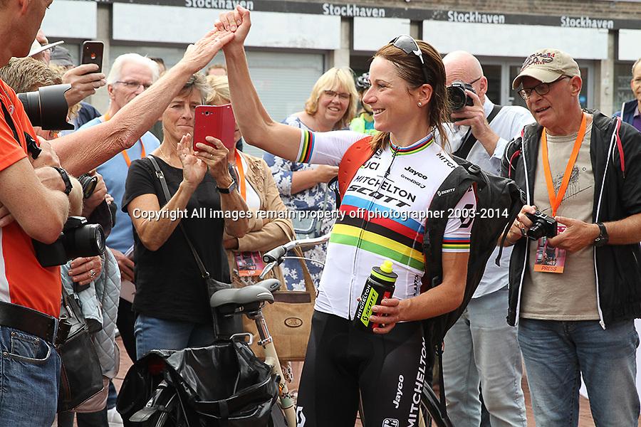 28-08-2018: Wielrennen: Ladies Tour: Arnhem<br />Annemiek van Vleuten