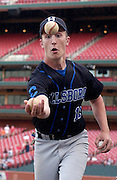 T.J. Smreker of Hillsboro juggles in a game against O'Fallon at Busch Stadium.