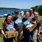 June 19, 2016 - MAINE : Photographs from the 2016 Trek Across Maine, Day 3. CREDIT: Karsten Moran for the American Lung Association of Maine