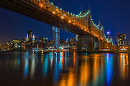 USA, New York, Long Island City, Queens, Queensboro Bridge